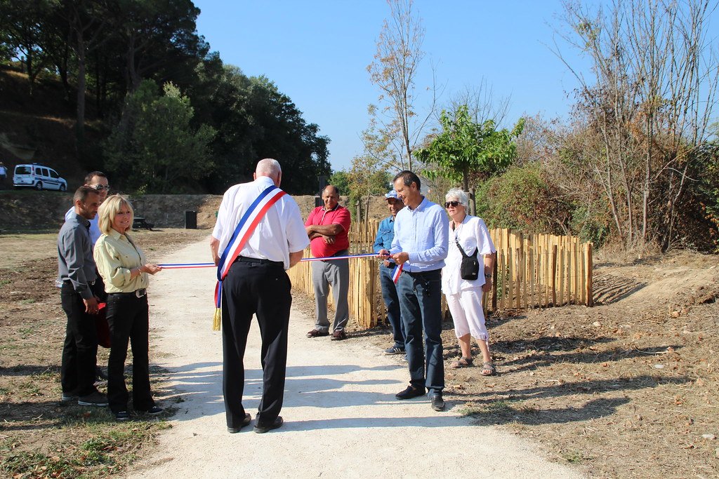 Inauguration parcours sportif