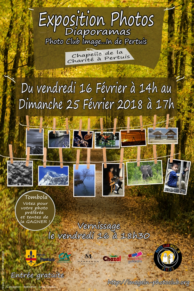 Expo Photo club Image...In du 16 au 25 février