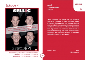 Episode 4 - Sellig - One man show