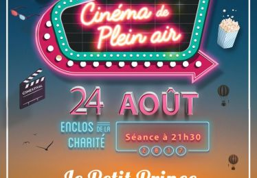 """Ciné plein air """"Le Petit Prince"""" 24/8"""