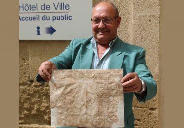 Une lettre de 1828 découverte dans l'Hôtel de Ville