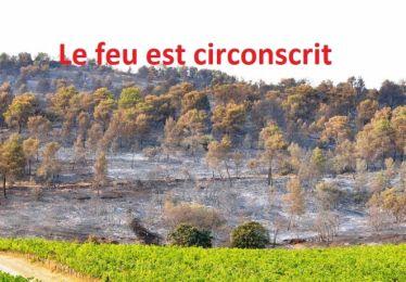 Feu La Bastidonne - Mirabeau