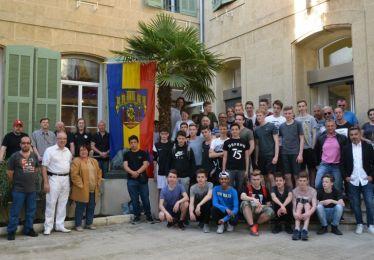 40 jeunes footballeurs Herbornois à Pertuis