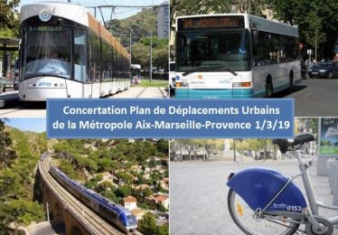 Atelier concertation Plan de Déplacements Urbains de la Métropole à Pertuis