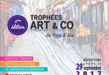 Trophées Art&Co Aix inscription jusqu'au 29 septembre