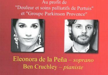 Concert exceptionnel Eleonora de la Pena et Ben Cruchley