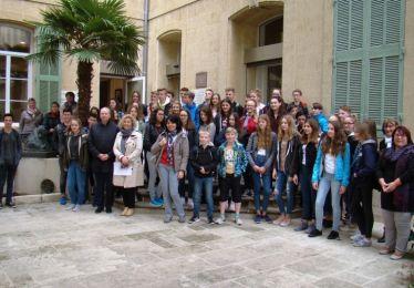 Les lycéens allemands d'Herborn accueillis à Pertuis