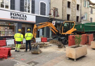 Les travaux rue Colbert ont commencé !