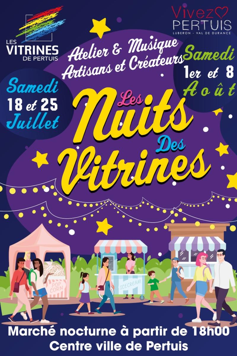 Marché nocturne « Les Nuits des Vitrines »