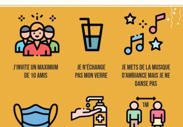 Recommandations sanitaires de la préfecture de Vaucluse