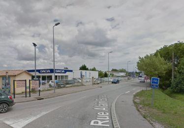 Travaux Giratoire Pertuis / RD956 - Rue Alain Bajac + Mensonger (route d'Aix)