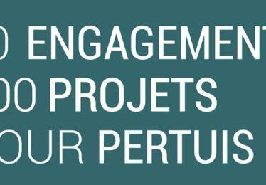 10 engagements et 100 projets pour bâtir ensemble le Pertuis de demain