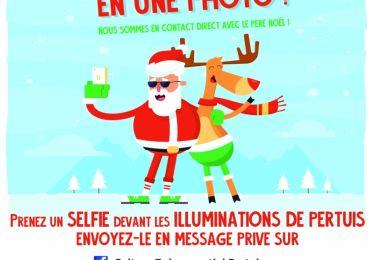 Envoyez-nous votre selfie de Noël !