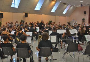 Concert de l'orchestre philharmonique du pays d'Aix-en-Provence junior