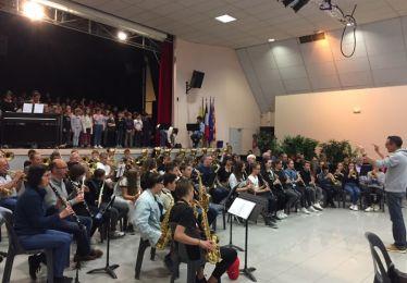 """Concert des Orchestres à l'école de Saint Maximin et Pertuis  dédié à l'enregistrement de l'ouverture de l'opéra """"L'Empereur d'Atlantis"""""""
