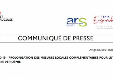 Calendrier du déconfinement et prolongation des mesures départementales de lutte contre l'épidémie