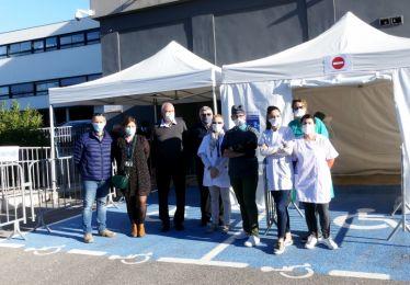 La Mairie de Pertuis soutient la mise en place d'un centre de dépistage COVID-19 portée par l'association SantéLub et le Centre Hospitalier Intercommunal Aix-Pertuis